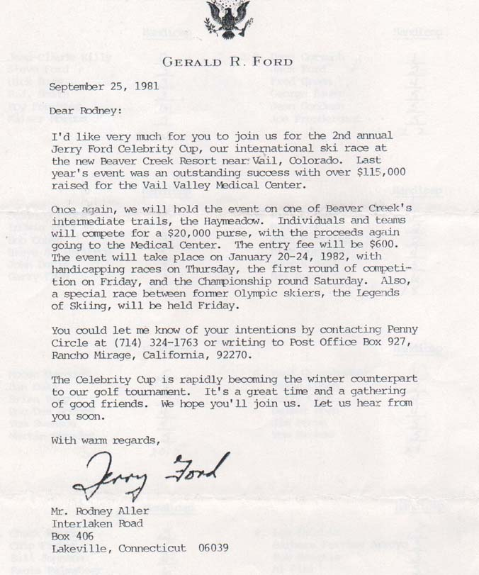 celebrity invitation letter